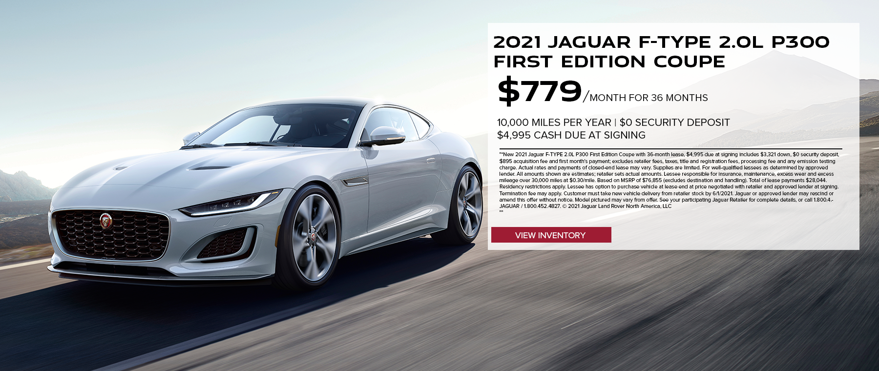May 2021 F-TYPE Coupe UPDATED