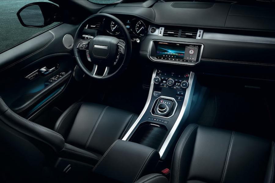 2018 Range Rover Evoque Technology