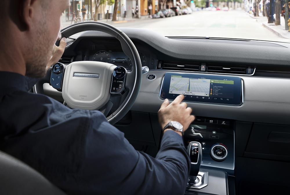 2020 Range Rover Evoque Technology