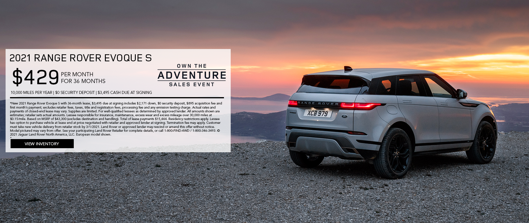 February 2021 Evoque UPDATED
