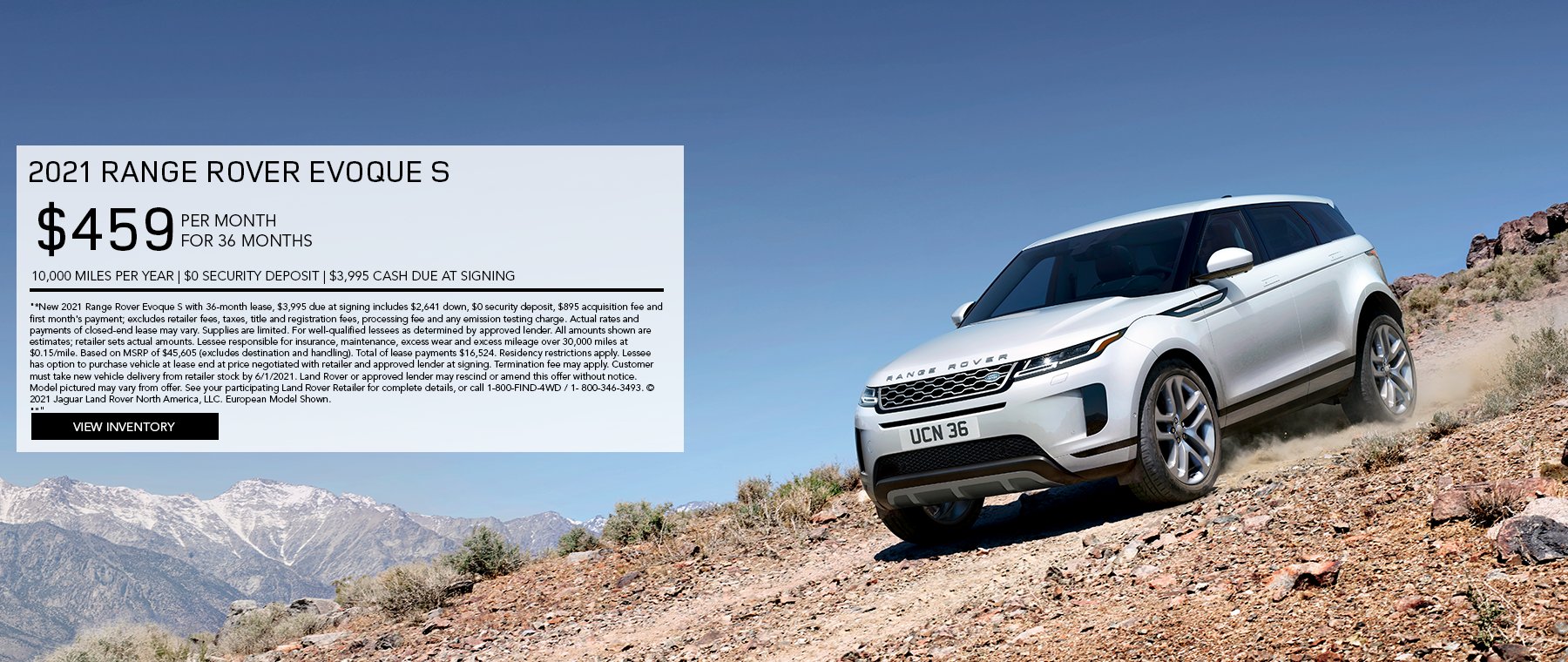 May 2021 Evoque