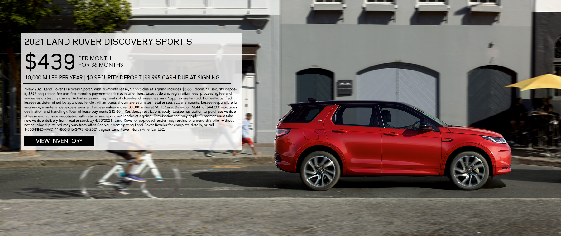 April Discovery Sport
