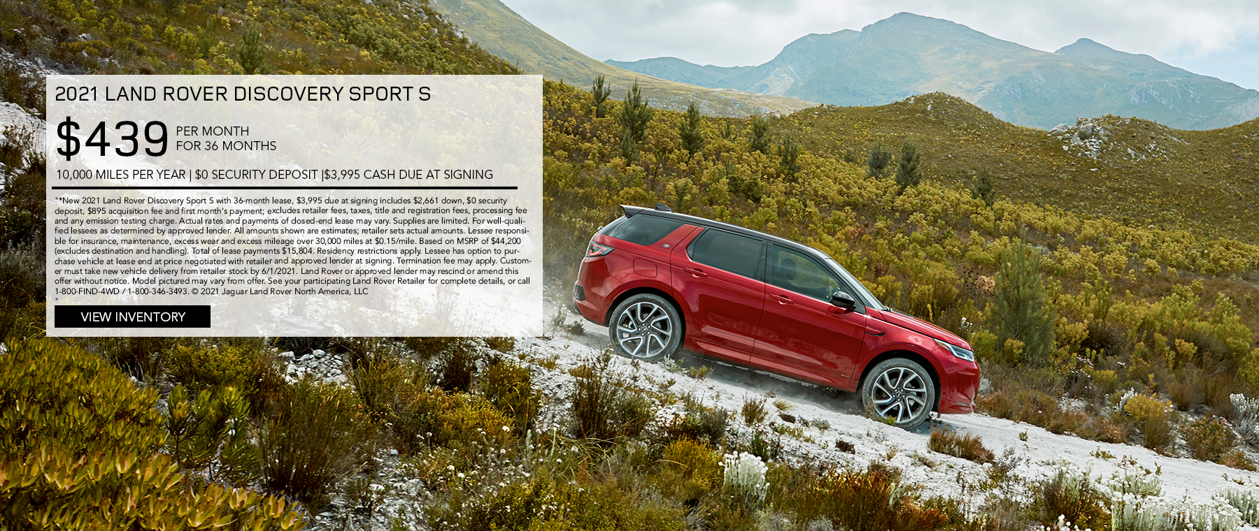 May 2021 Discovery Sport