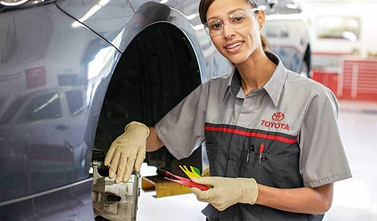 Genuine Toyota Service & Parts