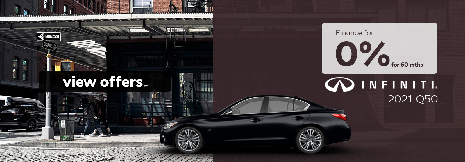Finance a 2021 Q50 for as low as 0% for 60 months!