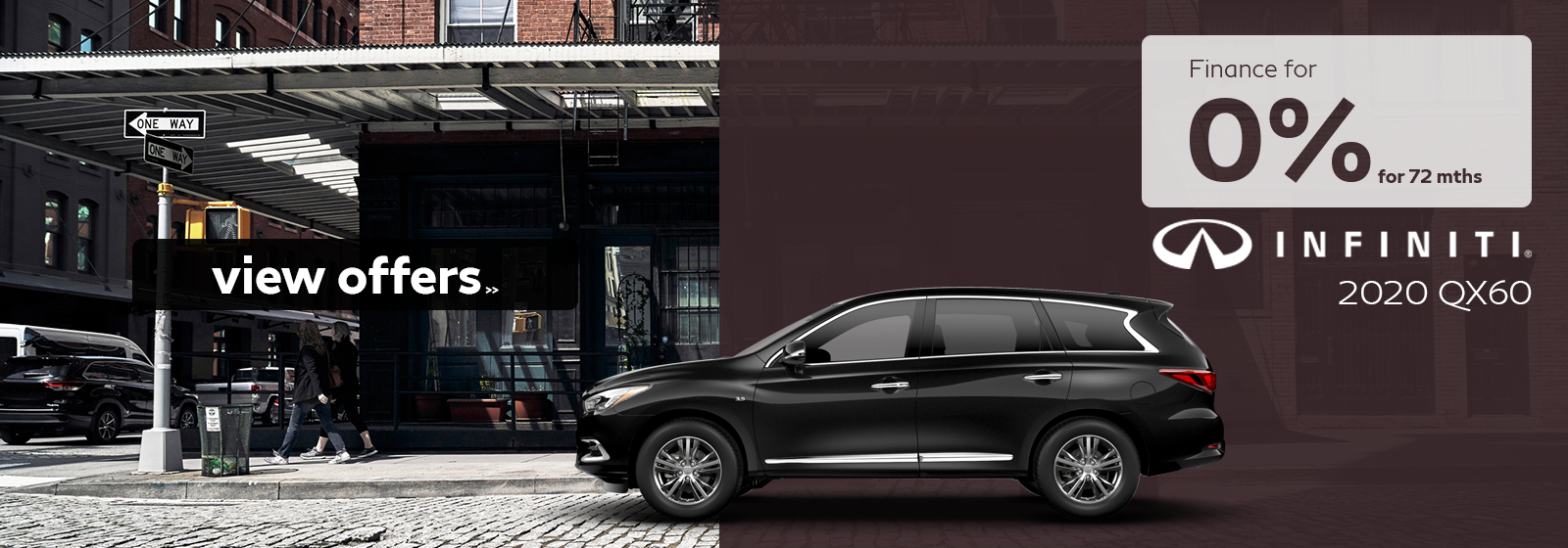 Finance a 2020 QX60 for as low as 0% for 72 months!