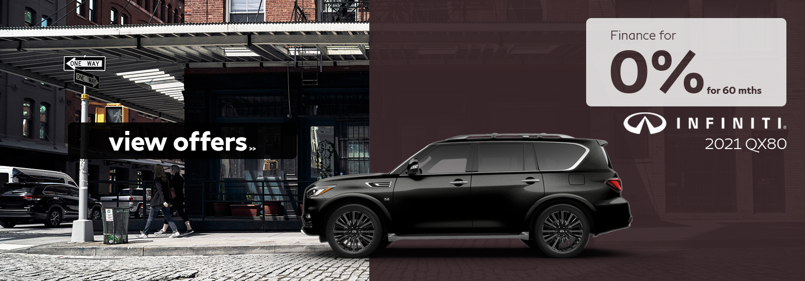 Finance a 2021 QX80 for as low as 0% for 60 months!