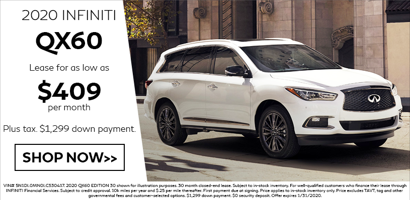QX60 Lease Special