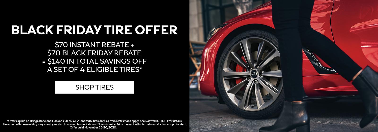 Black Friday Tire Offer