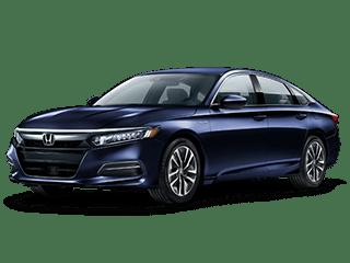 2018 Honda-Accord Hybrid Angled