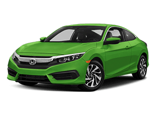 2018 Honda Civic Coupe Angled