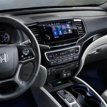 2020 Honda Pilot Dash