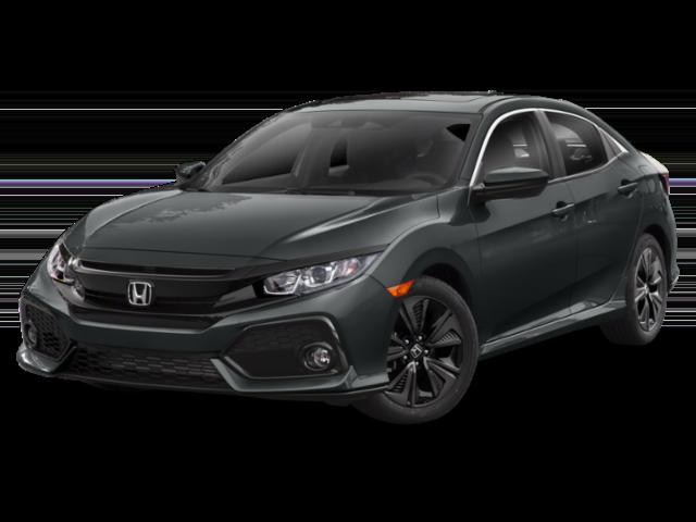 2019 Honda Civic EX, Black Exterior