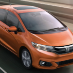 2020 Honda Fit, Orange Exterior