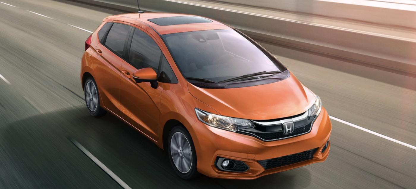 2020 Honda Fit, Orange Exterior