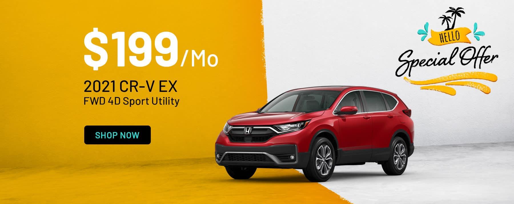 2021 Honda CR-V Special Offers