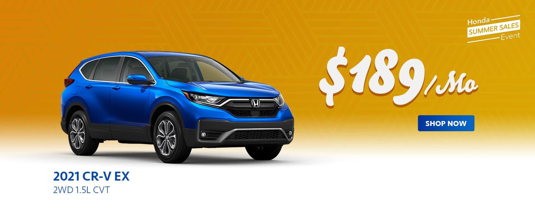 2021 Honda CR-V Offer
