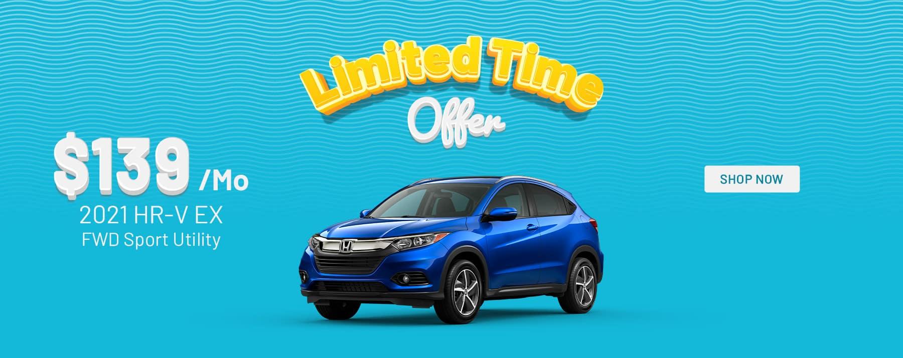 2021 Honda HRV Special