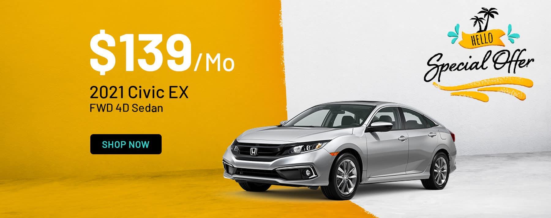 2021 Honda Civic Special Offer