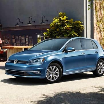 2019 VW Golf Parked