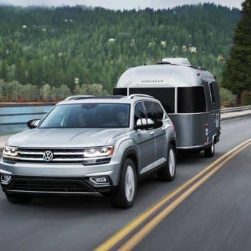 2019 VW Atlas Towing Camper