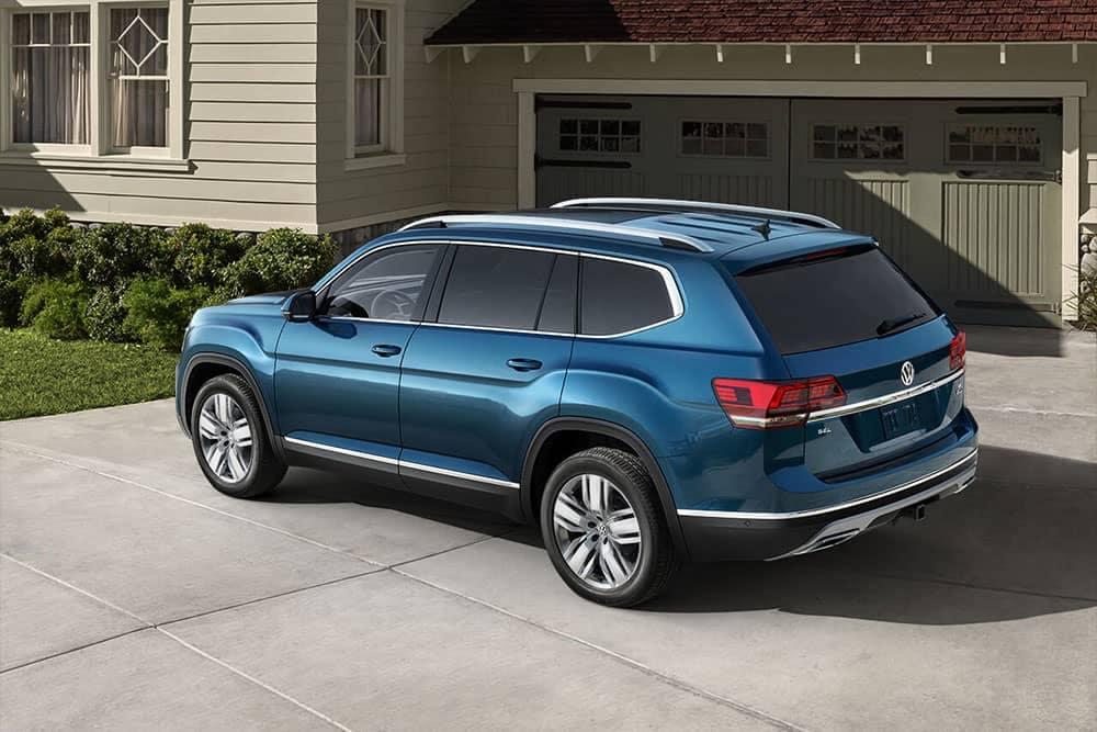 2019 VW Atlas In Driveway