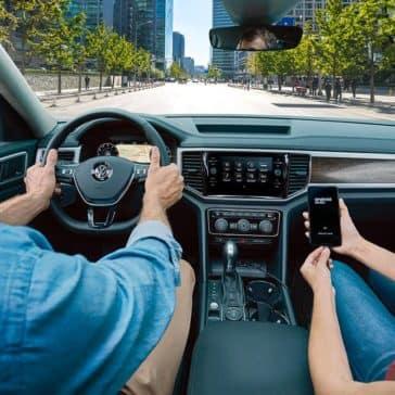 2019 VW Atlas Dash
