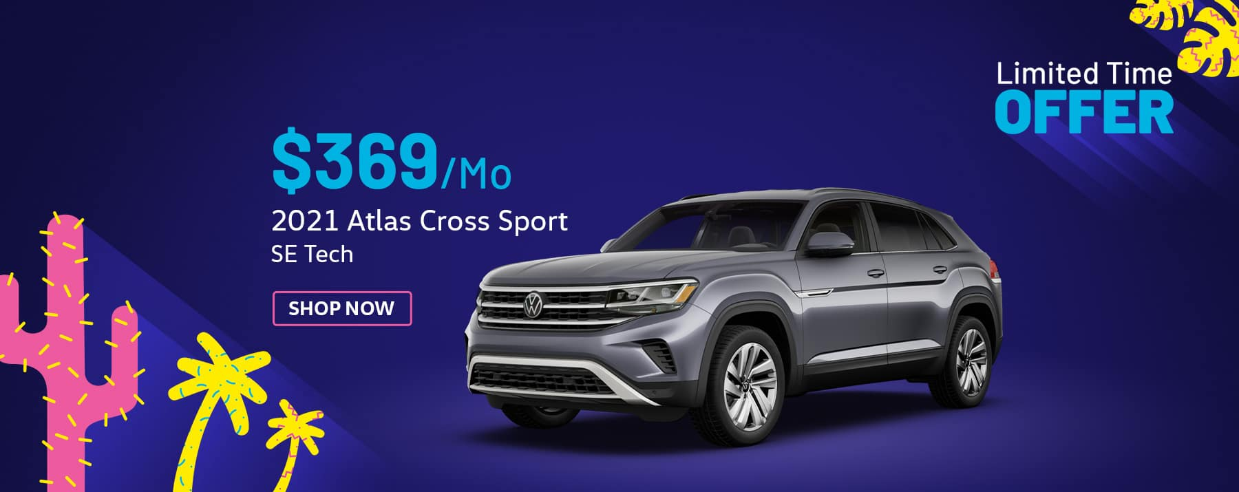 2021 VW Atlas CrossSport Special