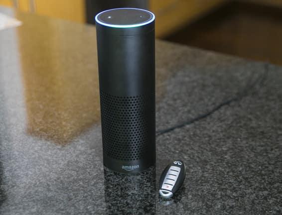 INFINITI Amazon Alexa Skills