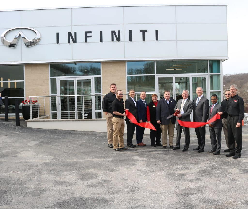 Salerno Duane INFINITI Ribbon Cutting