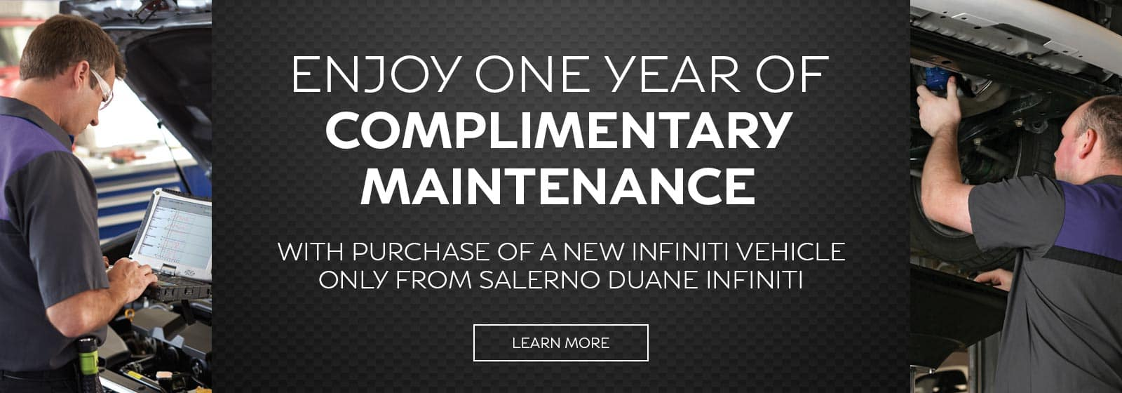 one year complimentary service