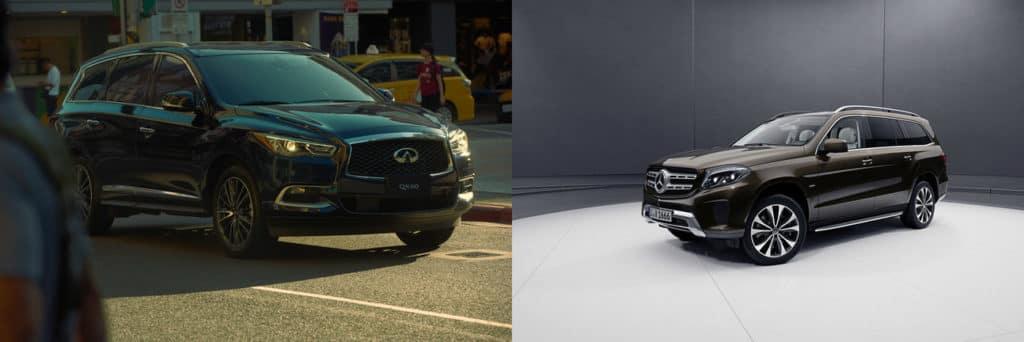 INFINITI QX60 vs Mercedes GLS450