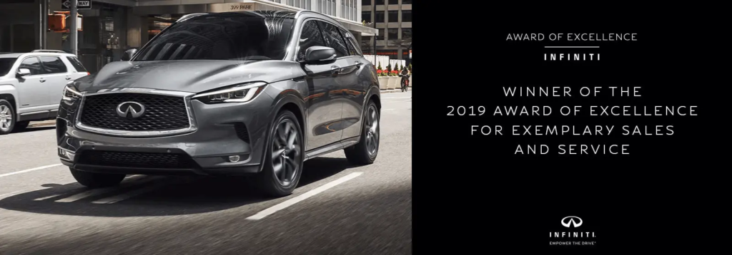 2019 INFINITI Award of Excellence