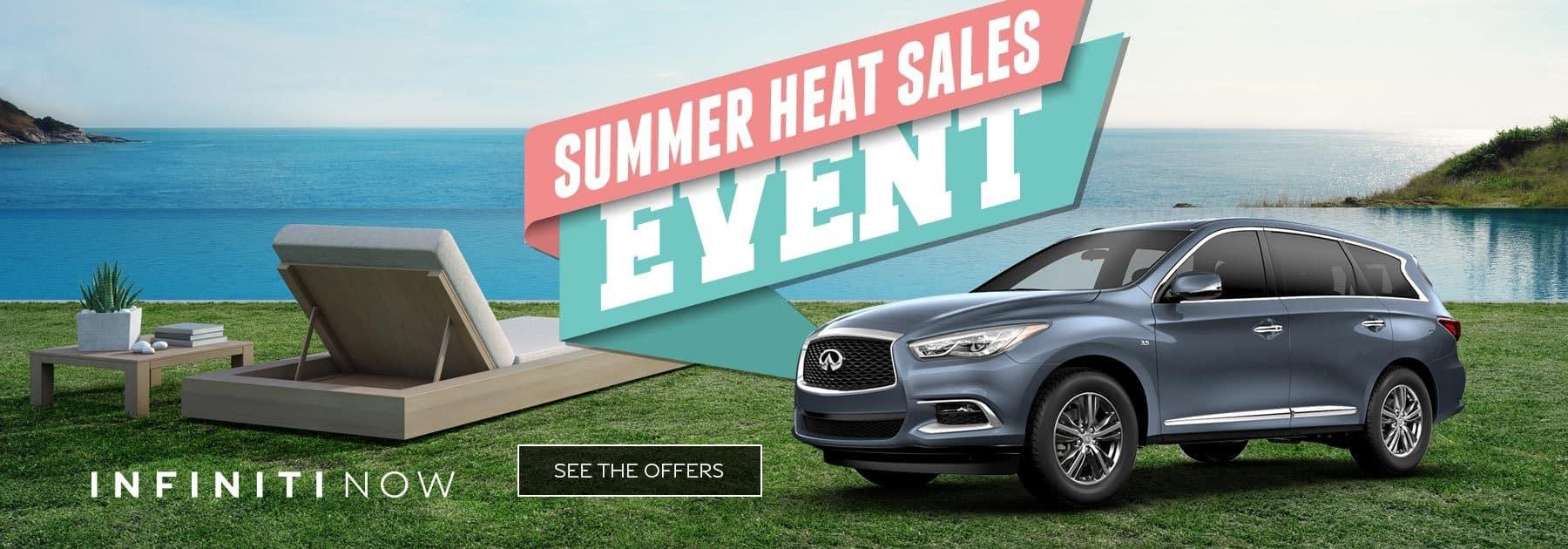 Summer Heat INFINITI Sales Event