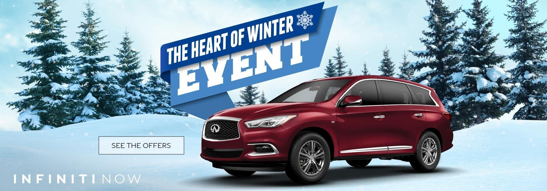 INFINITI The Heart of Winter Sales Event in NJ