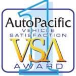2021 AutoPacific Vehicle Satisfaction Award