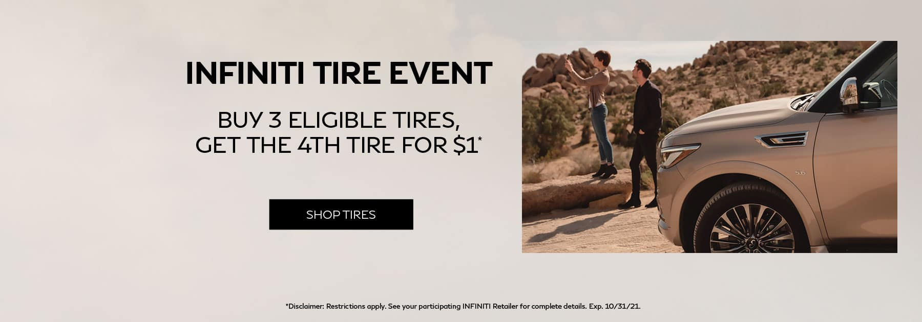 INFINITI Tire Event