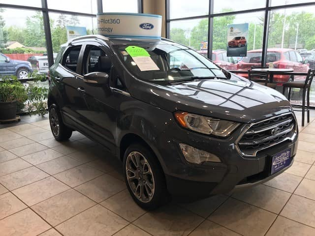 2018 Ford EcoSport SES 4WD DEMO SPECIAL