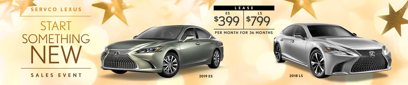 2019 Servco Lexus Start Something New Sales Event Sedan Lease