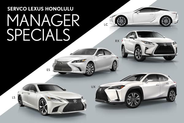 Servco Lexus Honolulu Manager Specials