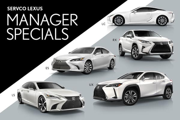 Servco Lexus Manager Specials