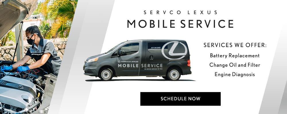 Introducing Servco Lexus Honolulu Mobile Service