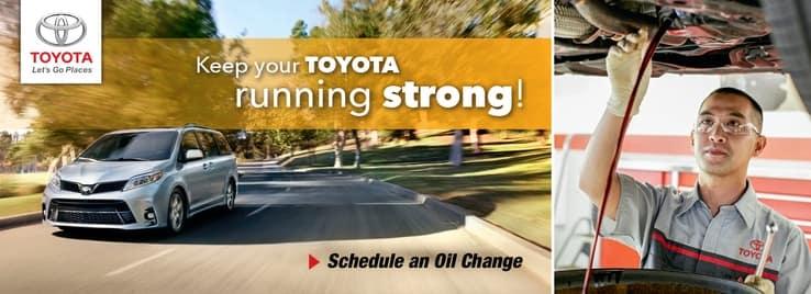 Toyota Oil Change Service