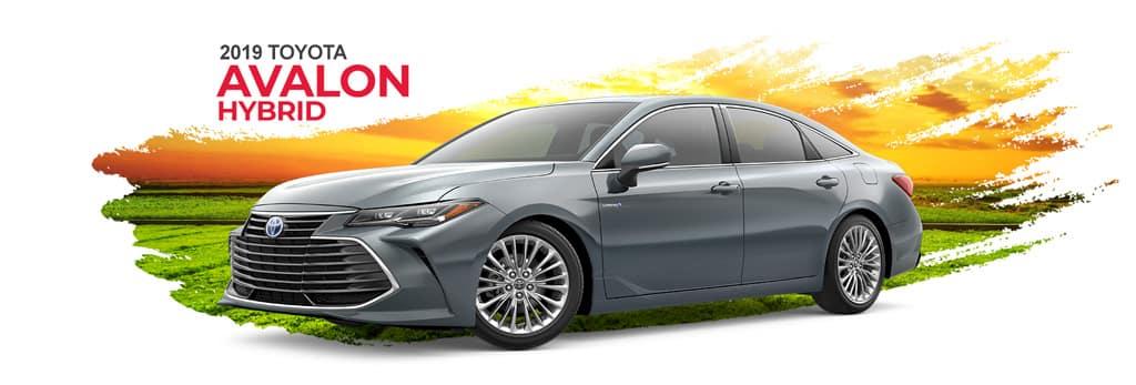 2019 Toyota Avalon Hybrid Banner