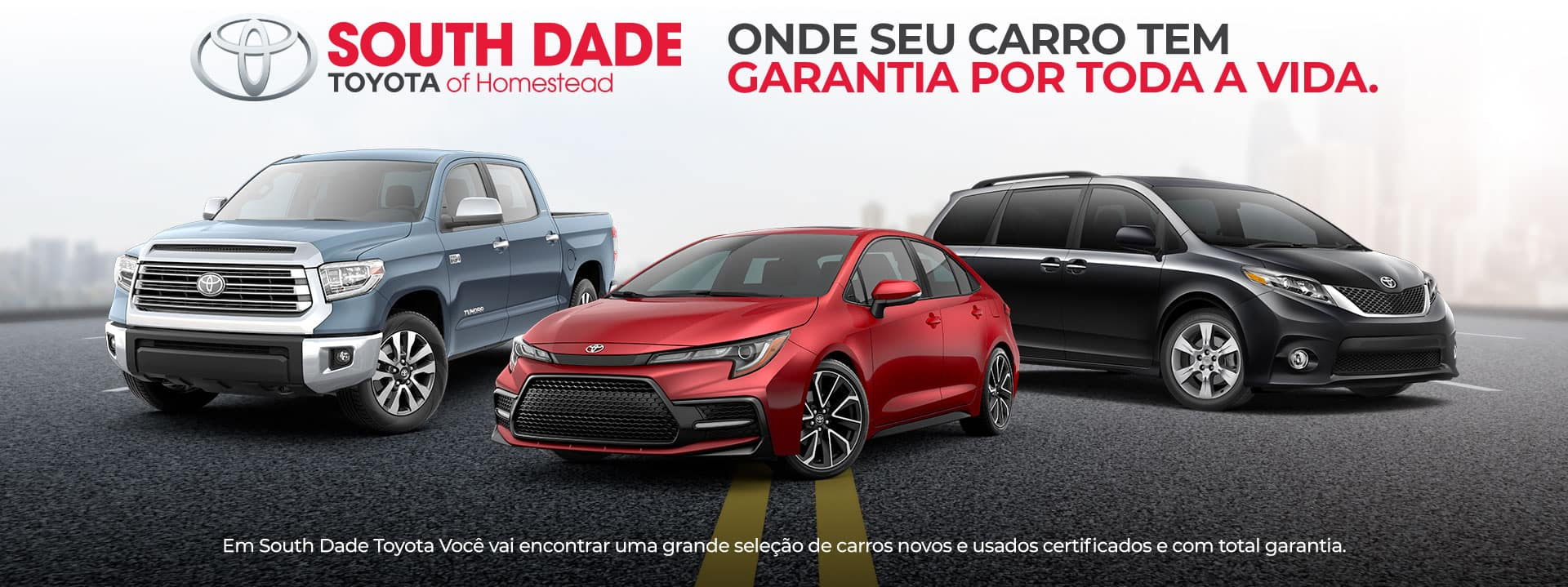 South Dade Toyota Brasil Commercial Banner 1