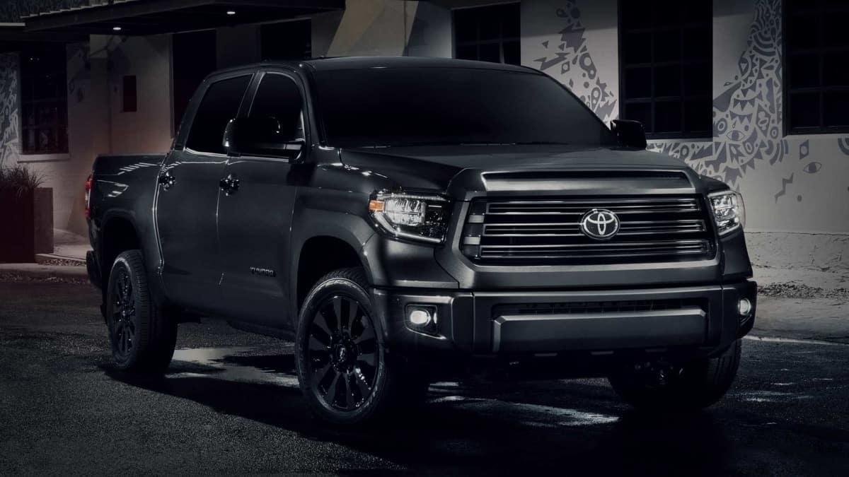 Toyota Tundra Nightshade Edition