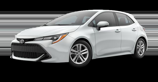New 2021 Toyota Corolla Hatch SE
