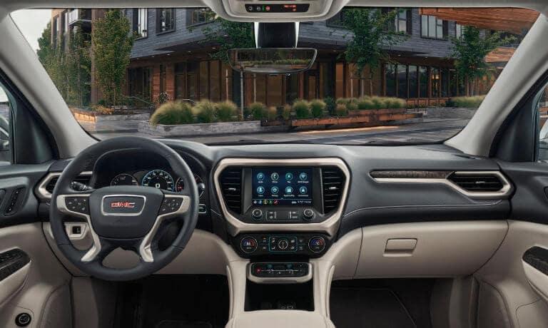2020 GMC Acadia Interior GPS