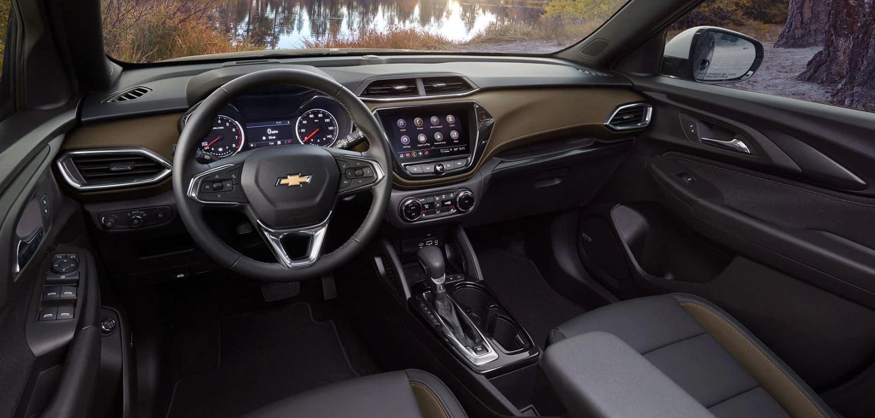 2021 chevy trailblazer interior leather trim