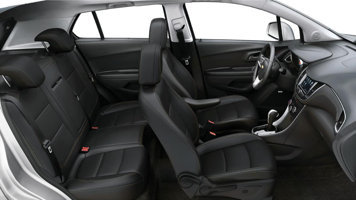 2021 chevy trax interior seating